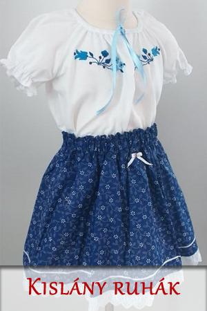Kislány néptáncos ruhák