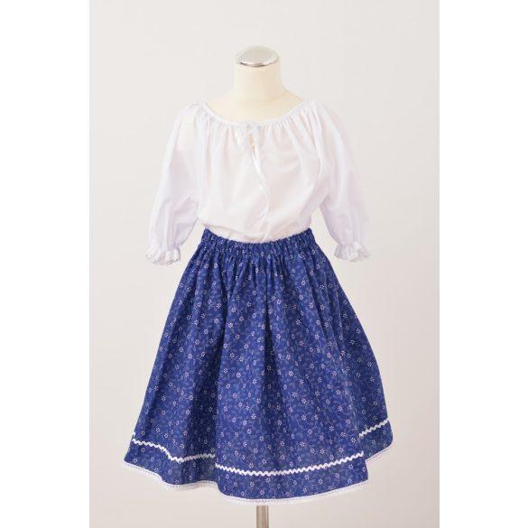 Kislány szoknya- kék