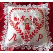Folk-tale ring pillow