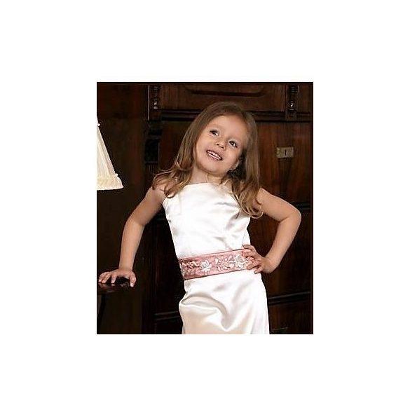 Kislány koszorúslány ruha - Laura