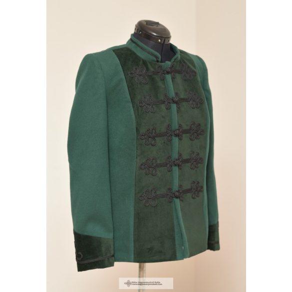 Hungarian, Bocskai, short coat green