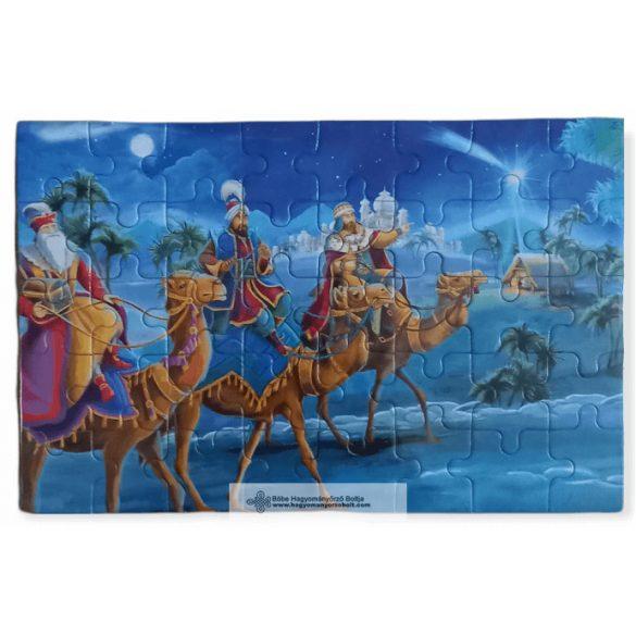 Kirakó-Karácsonyi kirakó játék