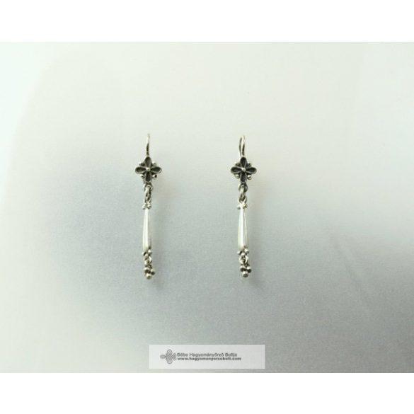 Hungarian jewelry, earrings, wheat seed