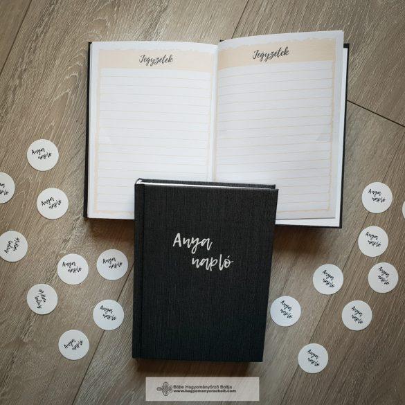 Anya napló-Grafit és fehér