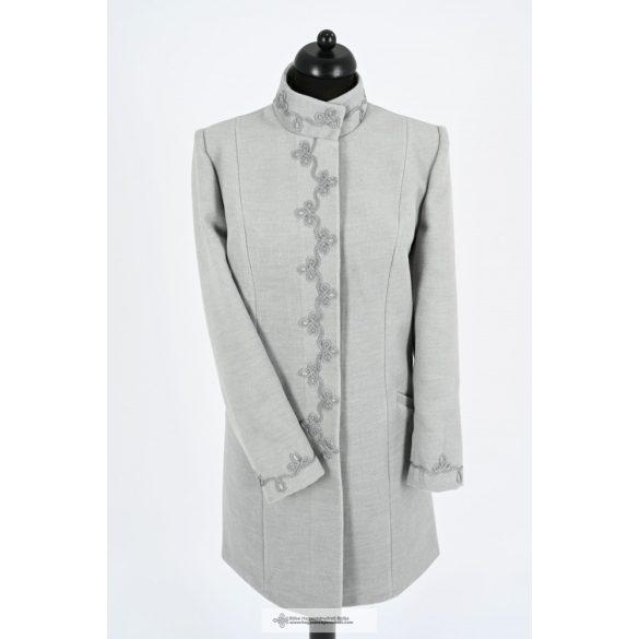Dóra női kabát-szürke