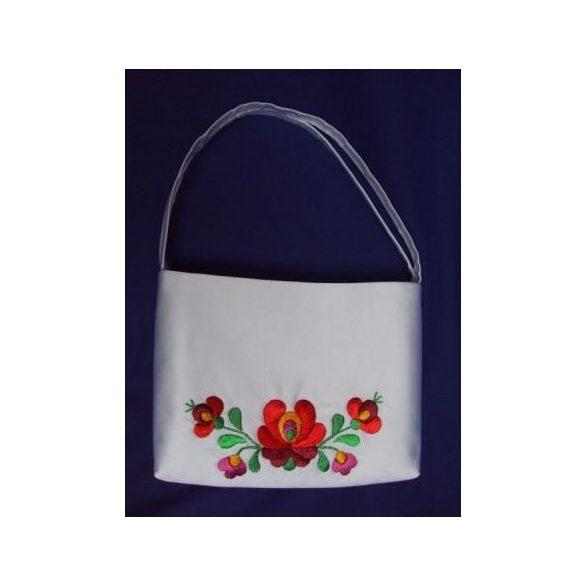 Hímzett menyasszonyi táska-1