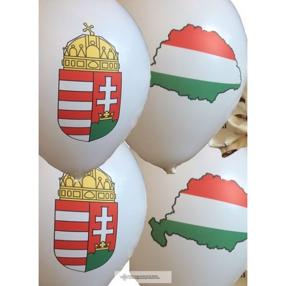 Nagy-Magyarországos és Címeres léggömb