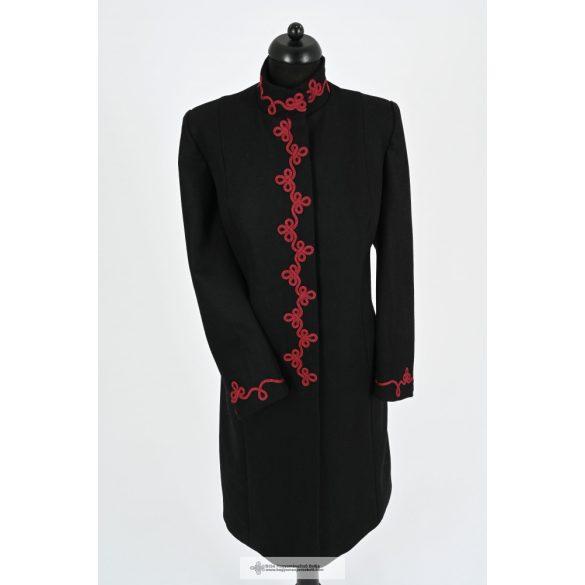 Dóra női kabát-fekete