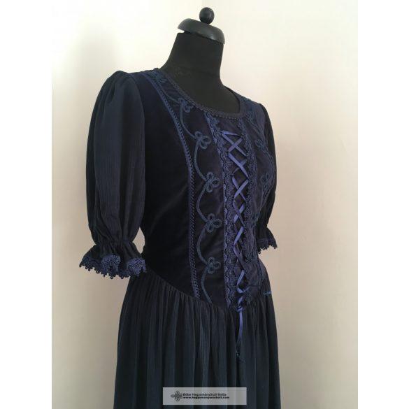 Női ruha- kék