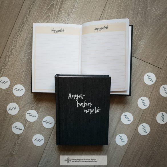 Anya napló-Grafit-fehér