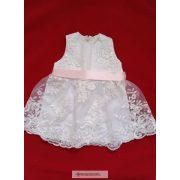 Csipkés keresztelő ruha