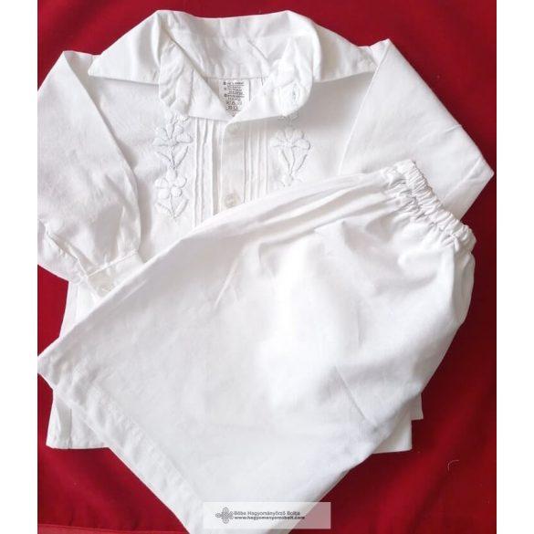 Keresztelő ruha-hímzett