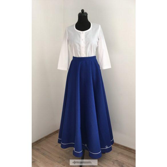 riding skirt blue