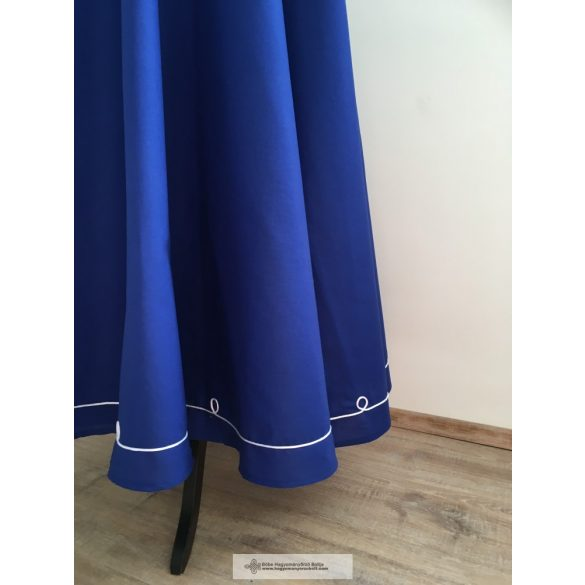 riding skirt blue