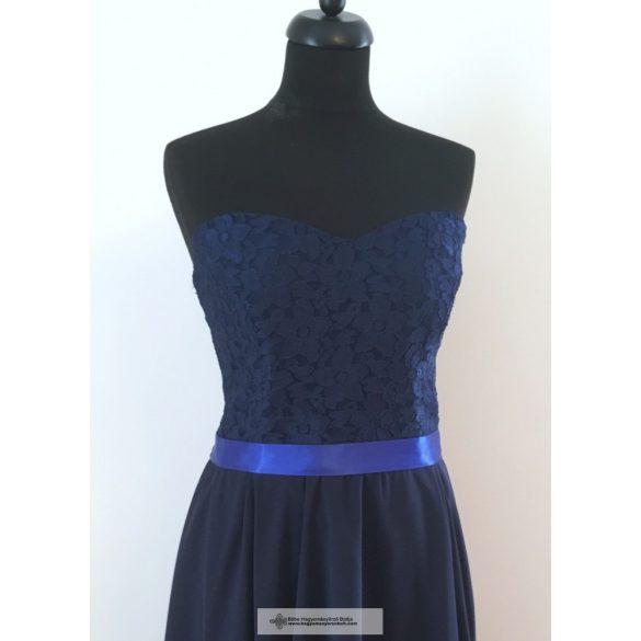 Kék csipkés alkalmi ruha - Jázmin