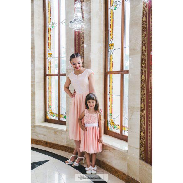 Kislány koszorúslány ruha - Kriszta