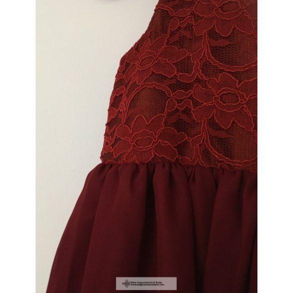 Kislány koszorúslány ruha - Szilvi