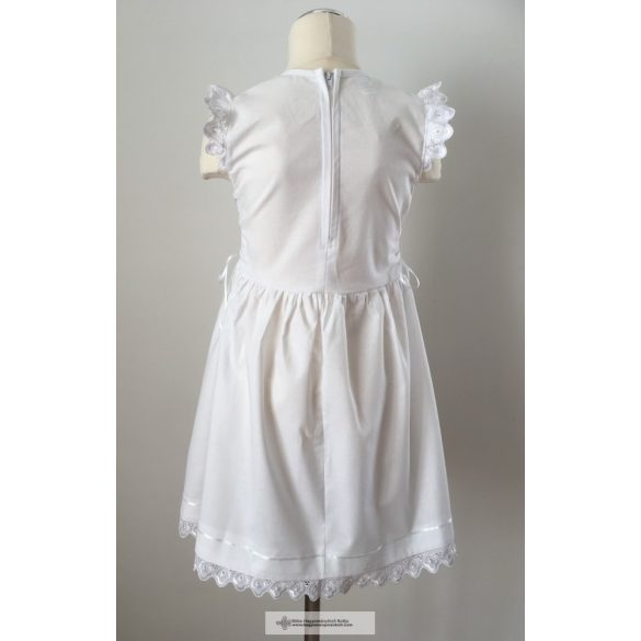 Hungarian embroidered little girl dress