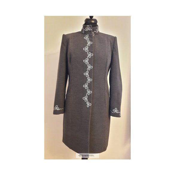 Dóra női kabát- sötét szürke