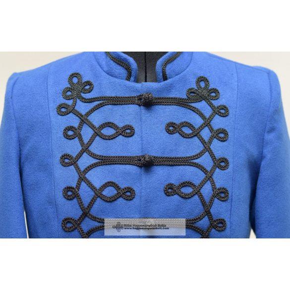Bocskai, kurze Jacke für Frauen blau