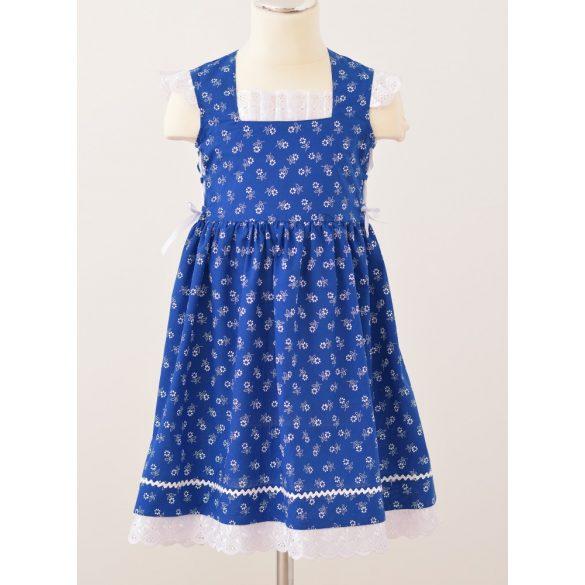Kislány ruha-kék