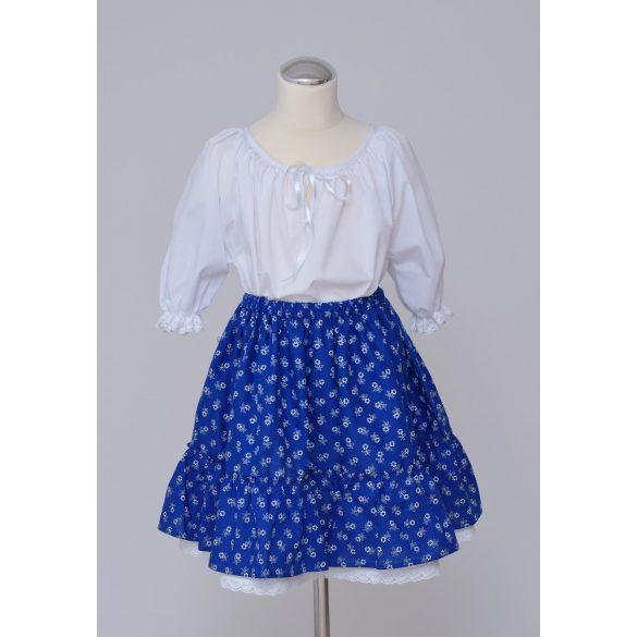 Kislány ruha együttes bodros szoknyával