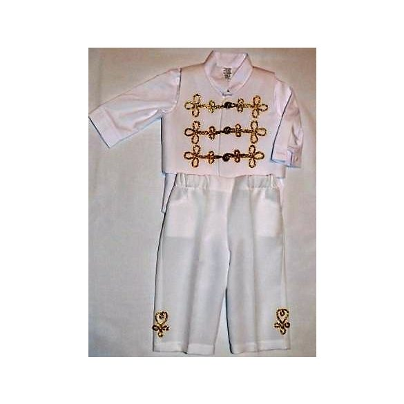 """István"" christening dress"