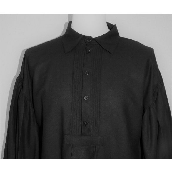 Fekete paraszt ing