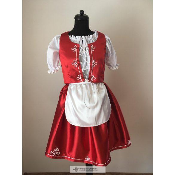 Magyar ruha, piros