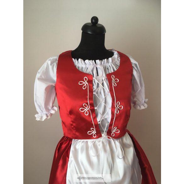 Ungarisches Kleid in Rot