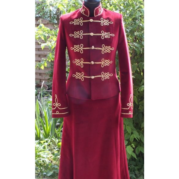 Hungarian riding dress