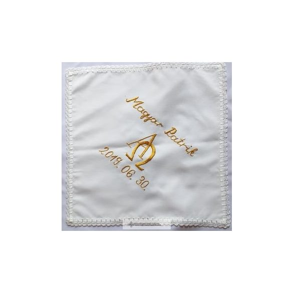 Taufe Schal