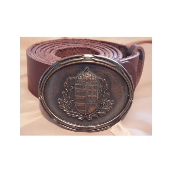 Leather belt-Hungarian coat-of-arms