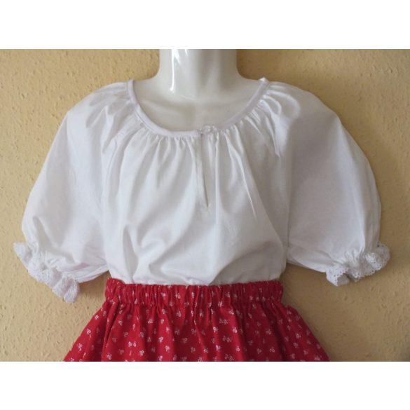 Folk dancing little girl blouses