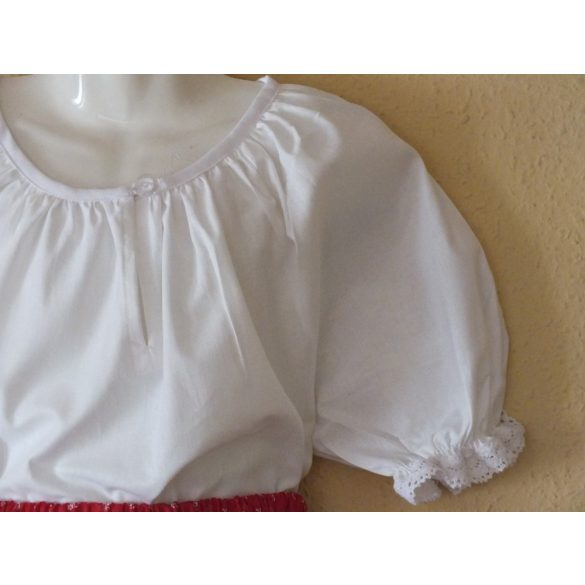 Folk dancing little girl blouses