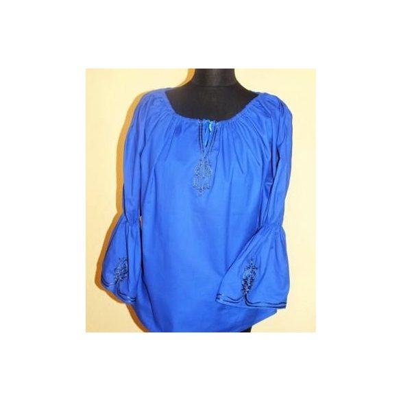 Lovas blúz-kék