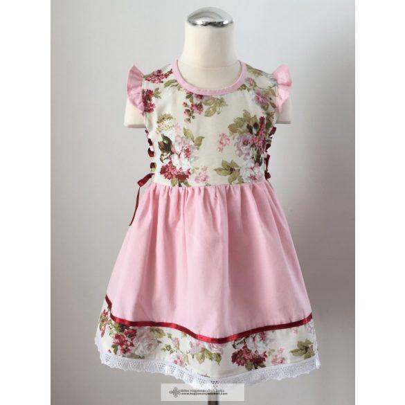 Kislány ruha, virágos
