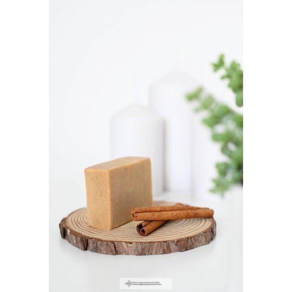 Csomagolásmentes háziszappan NATÚR + FAHÉJ-NARANCS