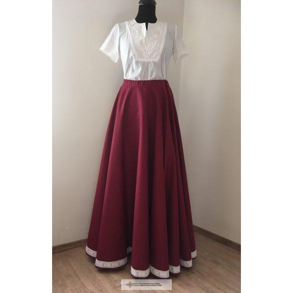 Hungarian riding skirt