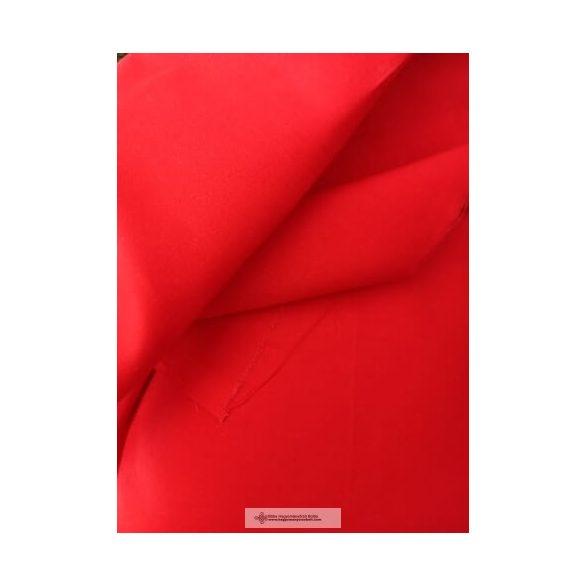 Pamutvászon-piros