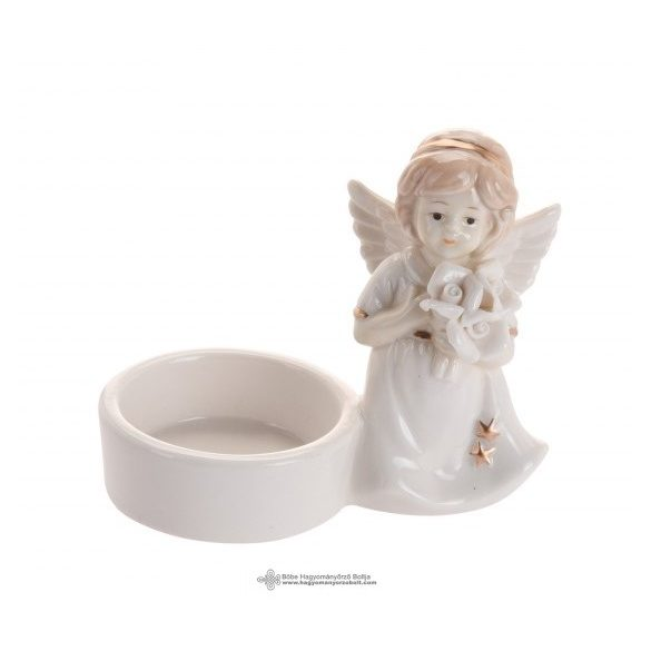 Mécsestartó angyal