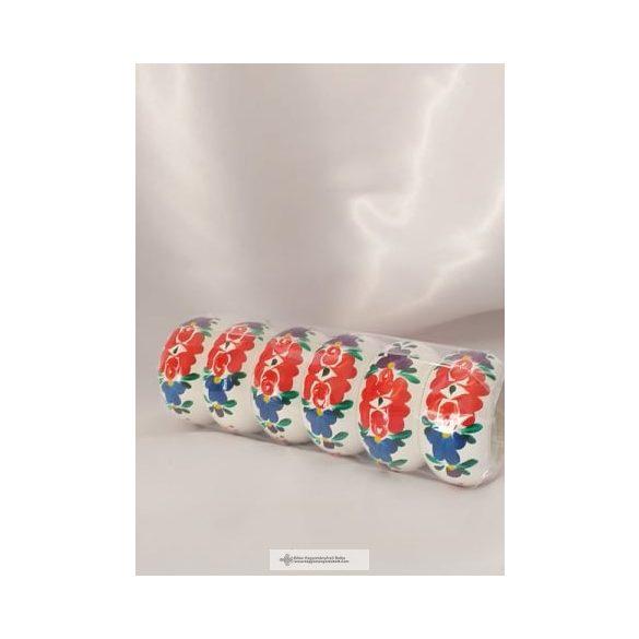 Magyarlak-Szalvétagyűrű- fehér
