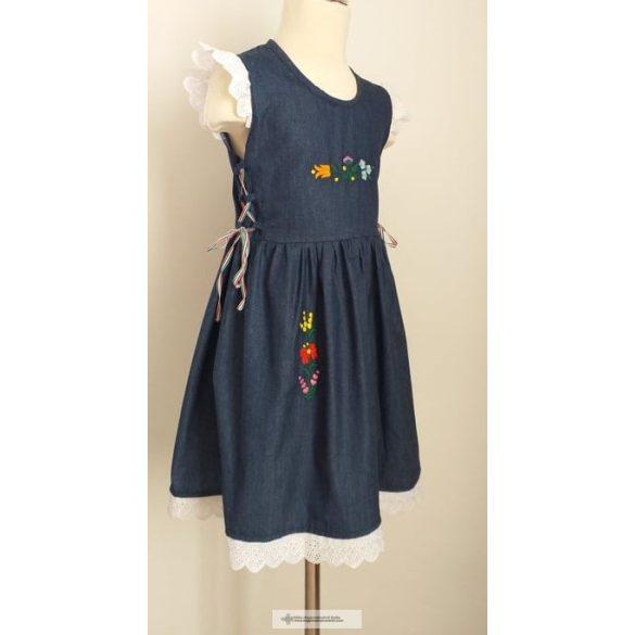 Kislány ruha-farmer