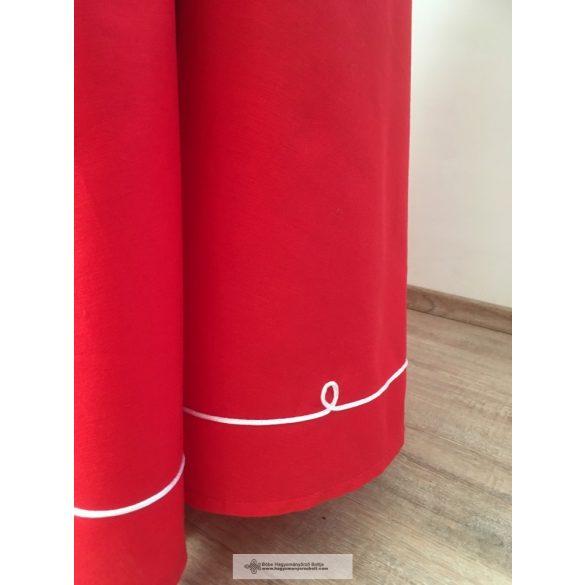 Lovagló szoknya-piros