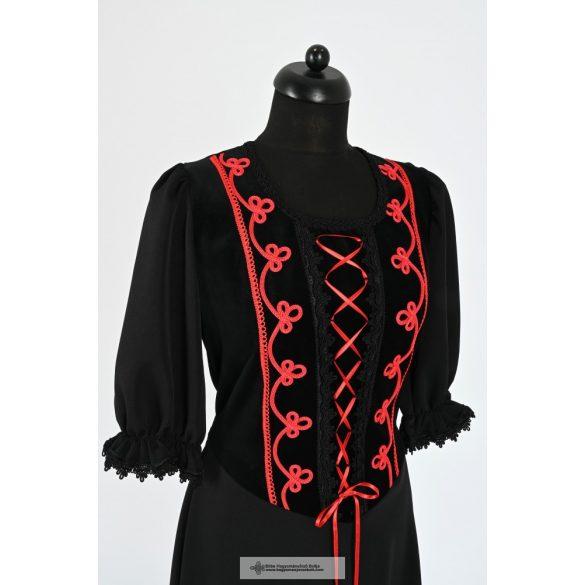 Női ruha- fekete