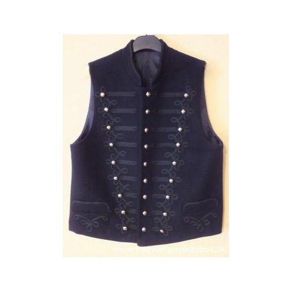 Mock-up vest with stringed decoration