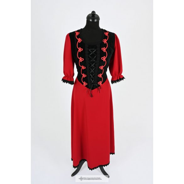 Női ruha-piros