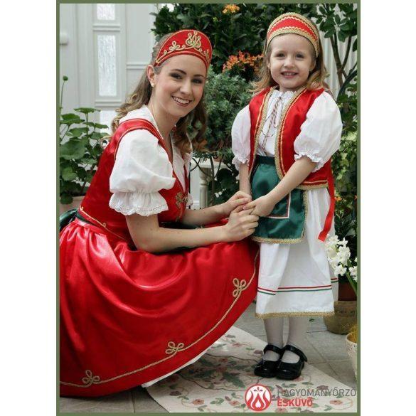 Magyar ruha-csárdás ruha