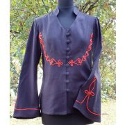 Hungarian women's riding blouse