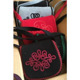 Bags decorated with Hungarian motifs